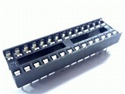28p low cost IC socket narrow