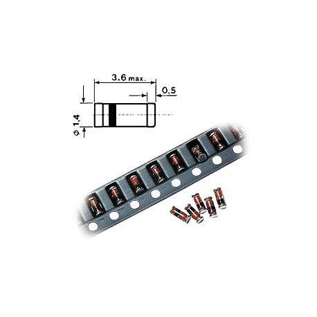 SMD MiniMelf Zenerdiode 5V1 0.5W