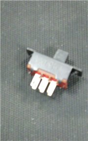 Slide switch two pole to 24x10mm