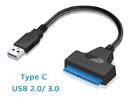 USB 3.0 SATA Cable SATA 3 to USB 3.0 Adapter Computer Cables