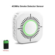 433MHZ RF Smoke Detector Sensor Wireless Smoke Fire Alarm Sensor Work