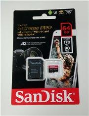 SanDisk Extreme PRO SDXC UHS-I Card 64GB