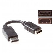 HDMI A Female to - Display port male. Adapter cable
