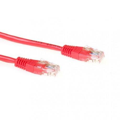 UTP patch C5E 3m red - IB5503
