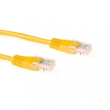 UTP patch C5E 1m yellow - IB5801