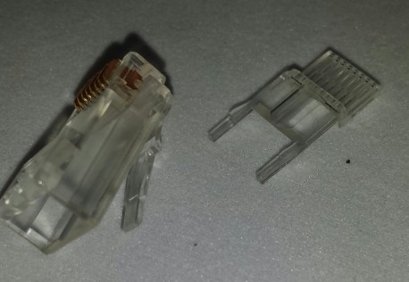 RJ 45 8p conn for round - stranded cable, simple in use R3208001