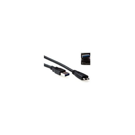 USB 3.0 A Male - Micro A Male - 1.00m