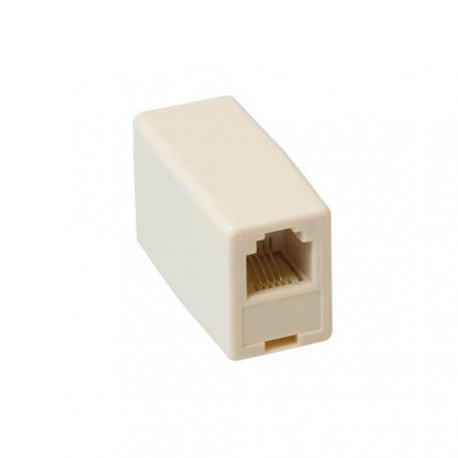 Modular couplers  2 x RJ 45 - female  female crossed