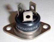 BTA 40/700B-ST Triac 40A/700V - Igate 50mA Ugate 1.5V Case RD91 with faston 10 - 8.40 /100-6.45
