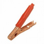 Mueller 41 C red isolated - crocodile clip