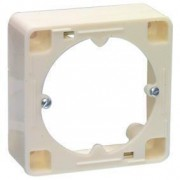 AR 20 surface mounted frame - white Hirschmann
