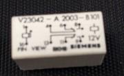 V23042-A2003-B101 - Siemens 12VDC Monostabiel 1 xcoil 2 x changeover