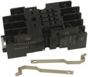 Socket V23100 HC2-SFD-K - socket screw terminals, DIN Rail 35mm 2 x change over, 10 + 8,60 each