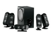 Logitec X-530 speakers / 5.1 - 70W RMS no box. geen box. DEMO
