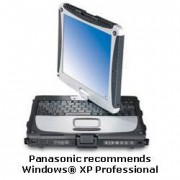 Panasonic Notebook CF-18 - Toughbook CF-18, Pentium M ULV, 900 MHz. 1,2 GB RAM, 40GB HDD, Windows XP Tablet Edition. LAPTOP