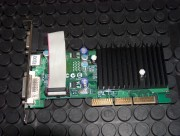 HP NVIDIA GeForce FX5200 (AGP) - 128MB, AGP 8x, REMARKETED. 90 days warranty. Connectors: 1 x D-SUB, 1 x S-VIDEO