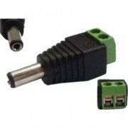 CCTV DC plug male 5.5x2.1mm