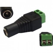 CCTV DC plug female 5.5x2.1mm