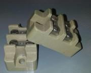 Ceramic terminal block 2p
