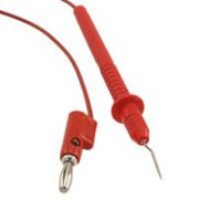 Pomona 5144-48 SMD  test lead - with Microtip, red