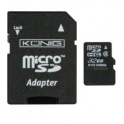 32GB Micro SDHC Memory Card - includes SD adapter