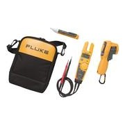 Fluke combikit: - 1. Fluke T5 Voltage, Continuiteits and     Current Tester.2. Fluke 62MAX + IR Thermometer. 3. 1AC II Voltage