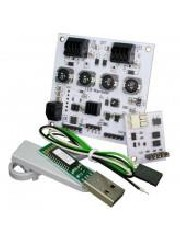 LED-Warrior04 Starter kit - Details:  LED-Warrior04 is an intelligent 4 channel LED driver with I²C, DMX-512, and DALI