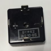Bridge rectifier BYW62 35A/400Asurge 100V 200Vrrm - BR-3q faston 6.3mm