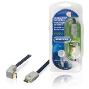 90° High Speed HDMI Cable with - Ethernet. Digital AV conn. allows DVD or other device to be conn. to an HD TV. 1.0m