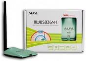 Alfa Awus036H 802.11 LongRange - 5dBi Antenna - Long Range USB WiFi Adapter