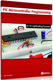 PIC Microcontroller Programmin - PIC Microcontroller Programming in 10 Captivating Lessons Author: Bert van Dam Language: