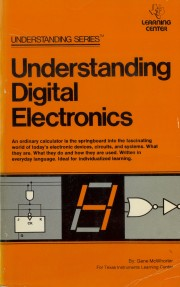 Understanding Digital Electron - Understanding Digital Electronics Author: Gene McWhorter Language: English Pages: 262