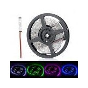 72W 5400lm 300 x SMD 5050 LED - 72W 5400lm 300 x SMD 5050 LED RGB Light Strip w/ Mini RGB Amplifier - (12V / 5 Meters) General