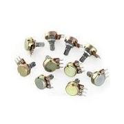 Mono Single Resistor Potentiom - Mono Single Resistor Potentiometers 20K 3Pin     Price for quantity 5+ € 1,29