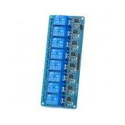 8-Channel Relay Module Board w - 8-Channel Relay Module Board w/ Optocoupler Isolation -Blue (Works with Official Arduino