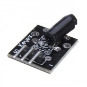 Keyes Sensor Module KY-002 - Arduino Vibration switch module KY-002  This vibration detector switch is OFF in the resting state,