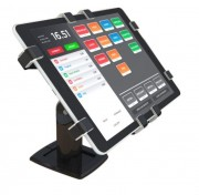 "Tablet Anti-Theeft Stand POS B - Tablet Anti-Theeft Stand For Point Of Sale Environments Black - 150 Degree Swivel 7"" - 10.5"""