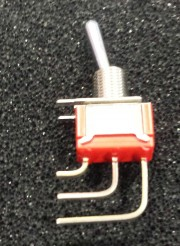 C&K 7101 switch on-none-on - SP soldering  flatted actuator