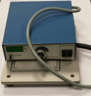 Heating plate for soldering - and desoldering, eff 10x17cm with timer and temp display. DEMO
