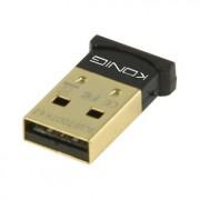 Micro bluetooth V4.0 dongle - Met deze micro Bluetooth dongle kun je een PC draadloos koppelen aan mobiele apparaten zoals