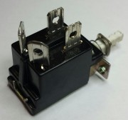 DP PC switch On-Off - 6A - 250VAC / 12A 125VAC used - 2,90
