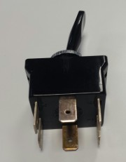 Toggle switch 10A 250VDC - 3A 24VDC 2p on-none-on momentary Arcolectric