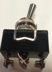 Toggle switch 10A 250VAC - APR on-on metal handle