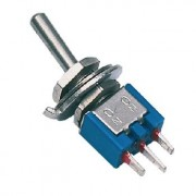 Toggle switch 1p on - on - 3A / 125V - 5 - 0.65 /25 - 0.50 /100 - 0.36