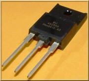 BU 4525AX SI-N 1500V 12A 45W - ISO220 - 10 - 2.65 / 100 - 1.65