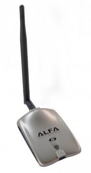 Alfa Awus051NH 802.11 a/b/g/n - 5dBi Antenna - Long Range USB WiFi Adapter, Soft AP, RP-SMA connector
