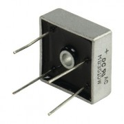 Bridge rectifier 1000V 35A - with leads  10 - 1.49 / 100 - 1.09