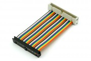 40p Rainbow GPIO extension cable male/female 10cm