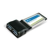 CARD X ARD/34 2 x USB3.0 - The ECU2300 was created to meet the need of the ExpressCard market where notebooks, desktops and