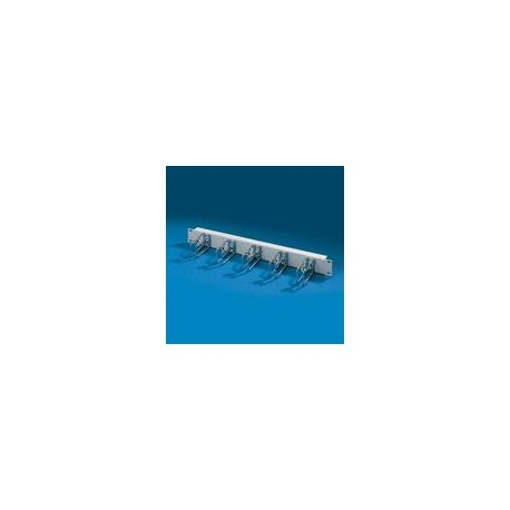 1U Cable manag.panel with - steel ring, RN 1564 Rittal 7257.035